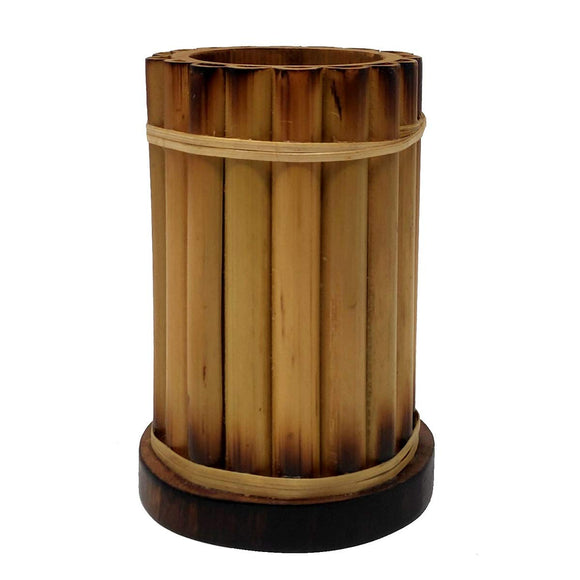 Sahya Dale Bamboo Pen Stand- Office Decoration- Corporate Gift- Bamboo Showpiece