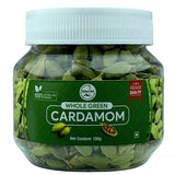 Sahya Dale Whole Green Cardamom 100g- First Grade- Big size Green Elaichi- Product of The Western Ghats…