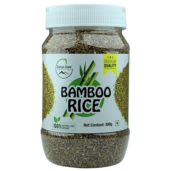 Sahya Dale Bamboo Rice 300g- Product of The Western Ghats