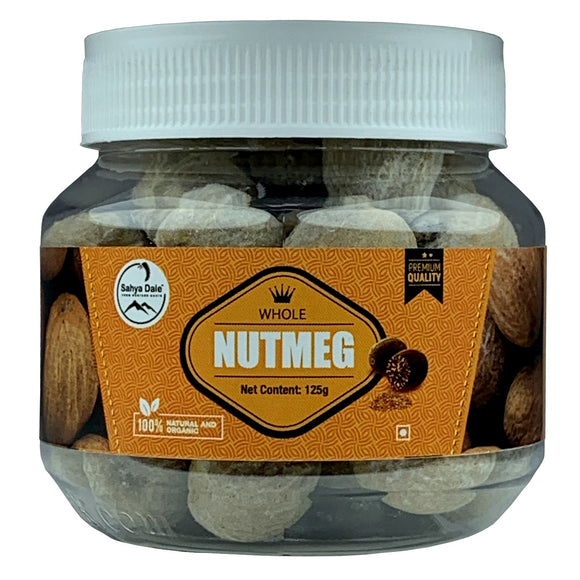 Sahya Dale Whole Nutmeg 125g