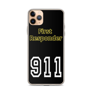 911 First Responder iPhone Case