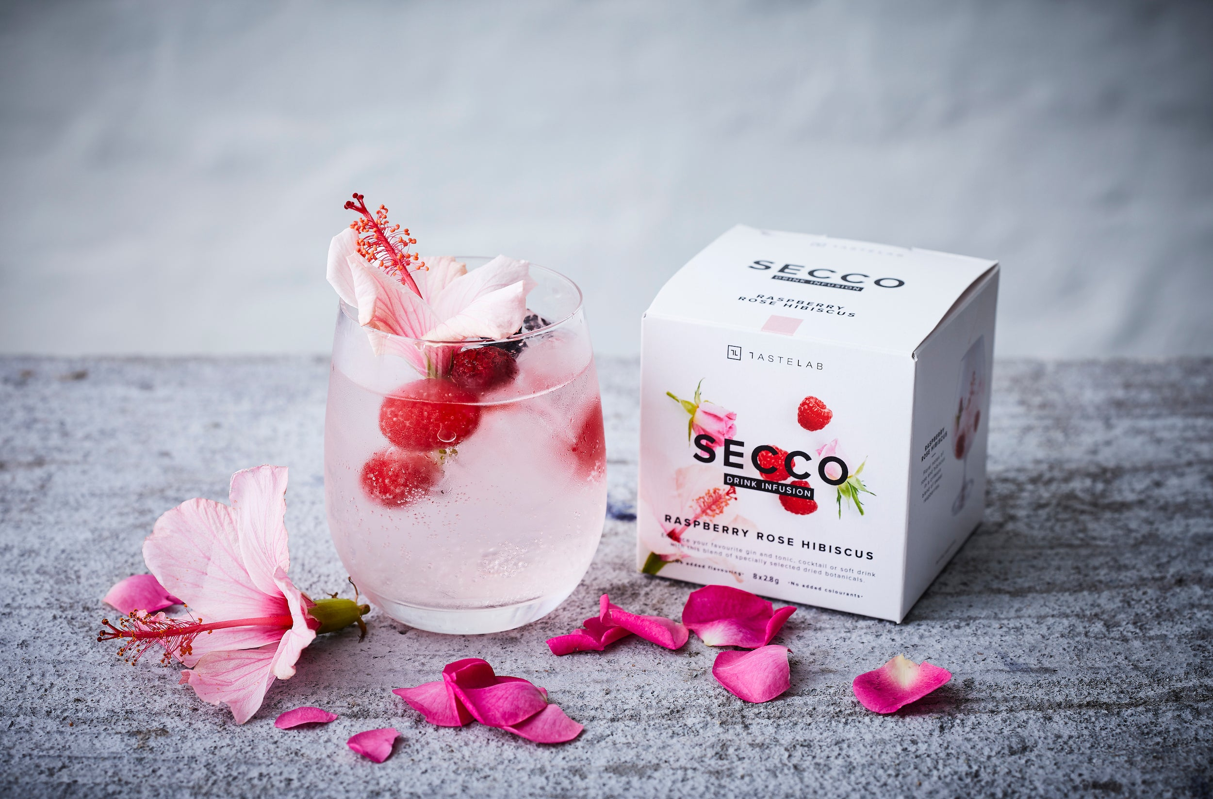 Raspberry Rose Hibiscus Drink Infusion FREE Sample