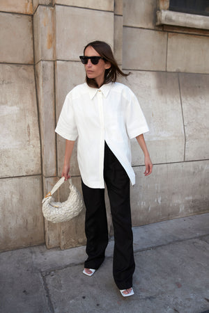 MOHELI SHIRT BY LOULOU STUDIO IN IVORY