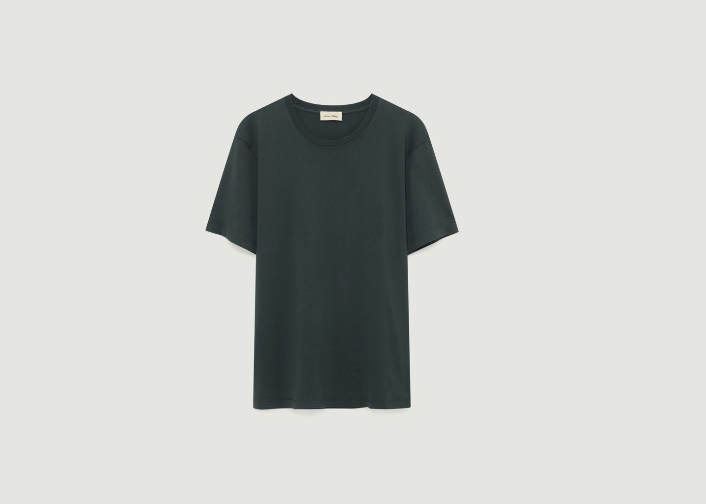 BASIC T SHIRT IN CHARCOAL