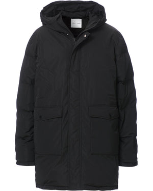 OKINA DOWN JACKET IN BLACK