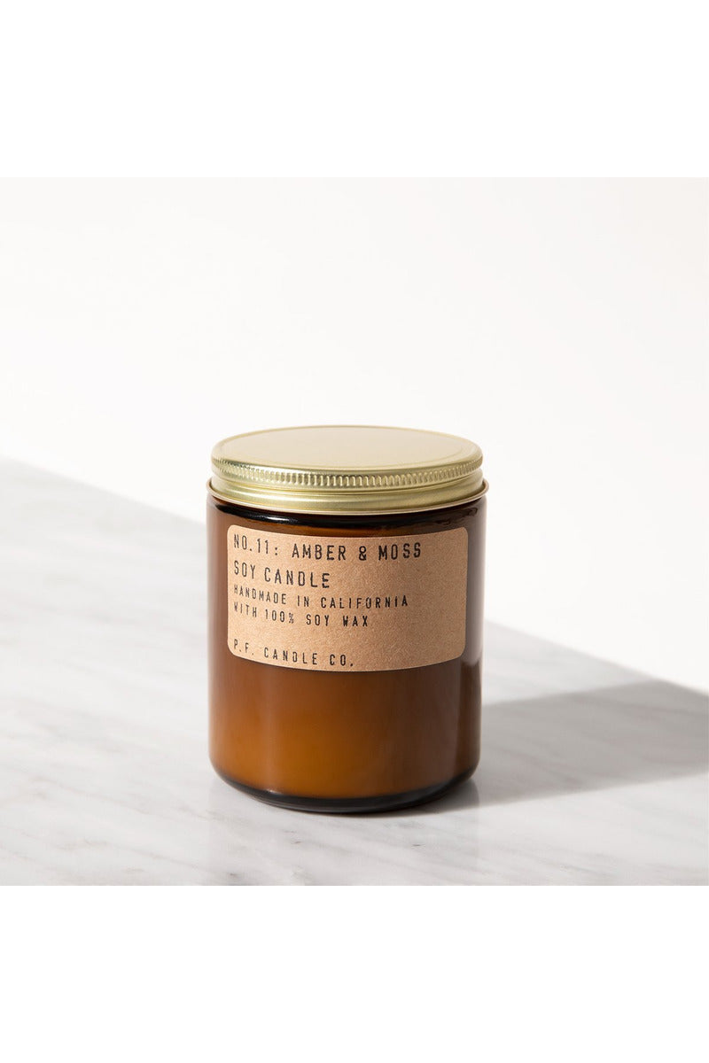 AMBER + MOSS SOY CANDLE - BEYOND STUDIOS