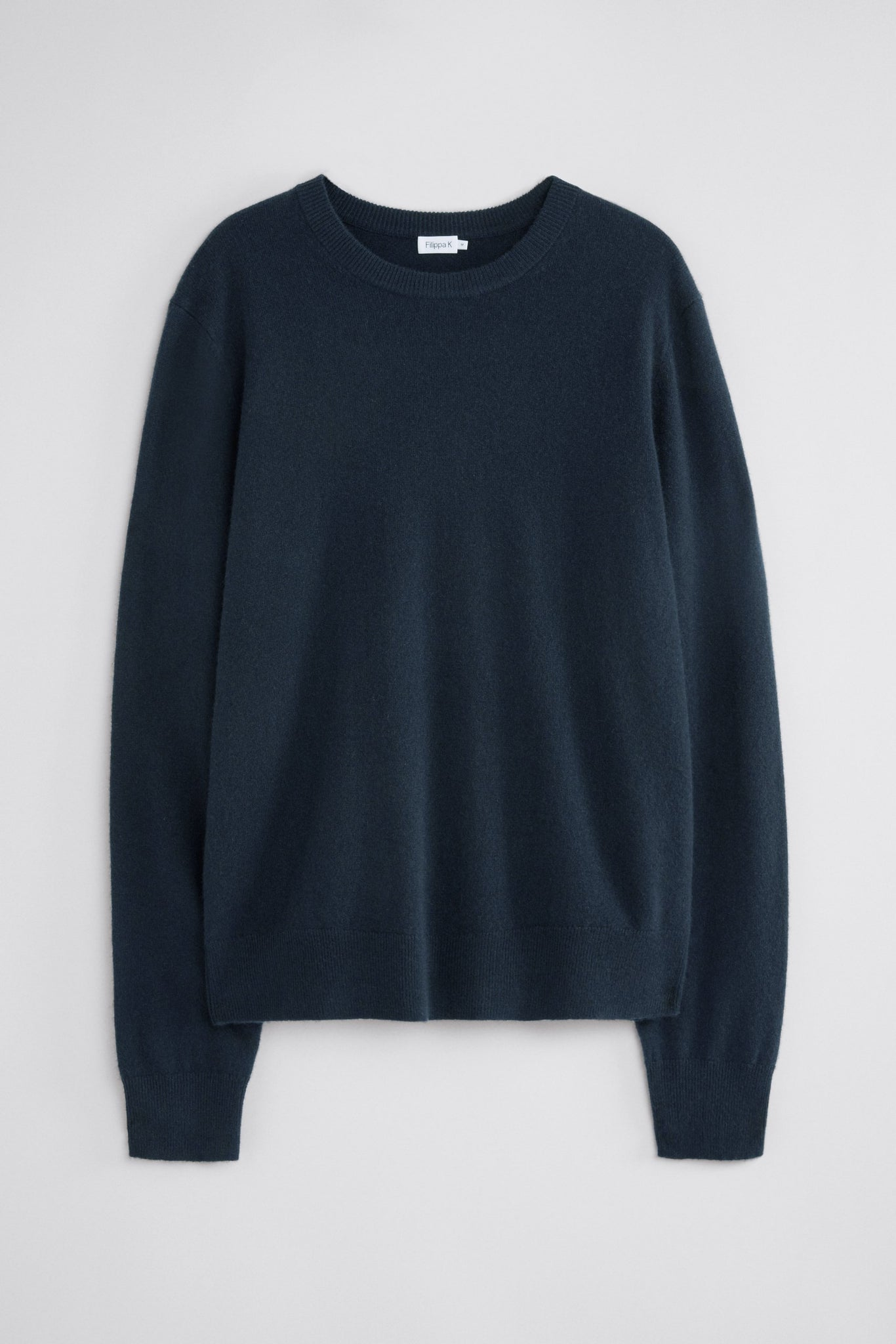FILIPPA K UNISEX CASHMERE SWEATER IN NAVY