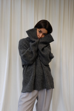 EXTREME OVERSIZED ALPACA PULLOVER BY HOUSE OF DAGMAR