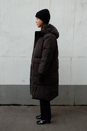 LONG PUFFER COAT BY EMBASSY OF BRICKS AND LOGS