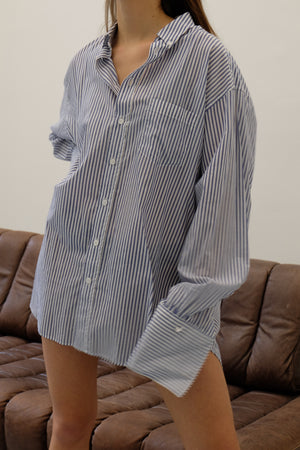 BRAVE SHIRT IN BLUE STRIPE