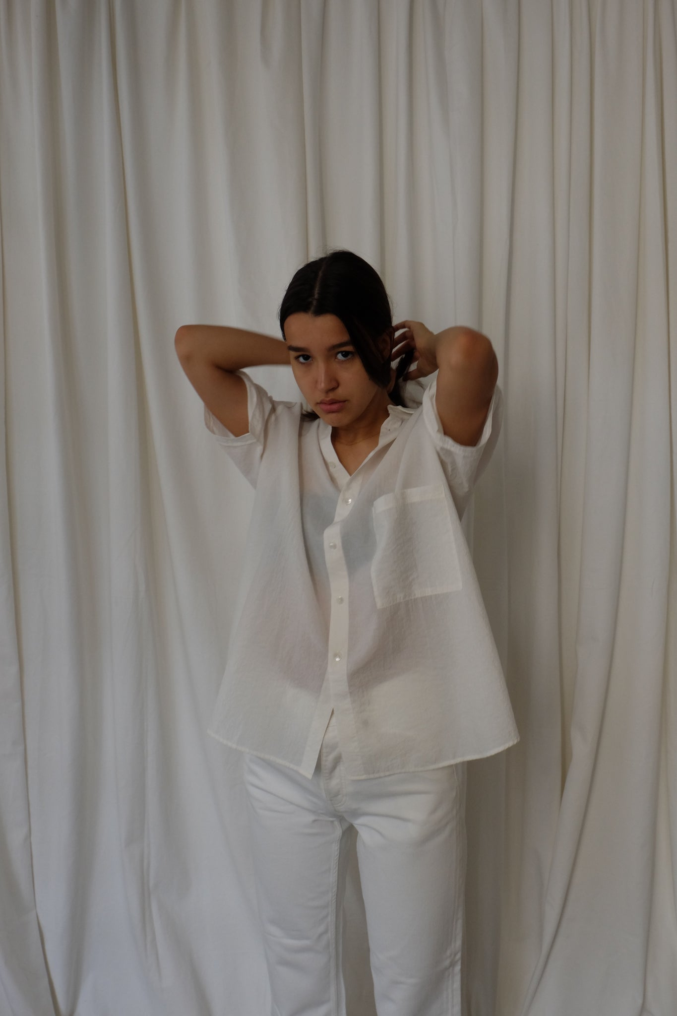ELMA SHORTSLEEVE OFF-WHITE BY HOPE - BEYOND STUDIOS