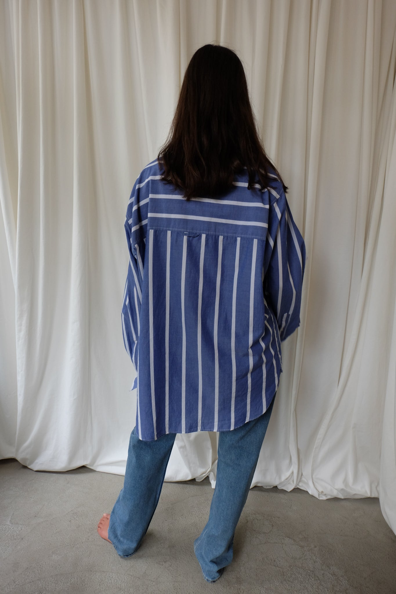 BRAVE SHIRT WHITE STRIPE BY HOPE