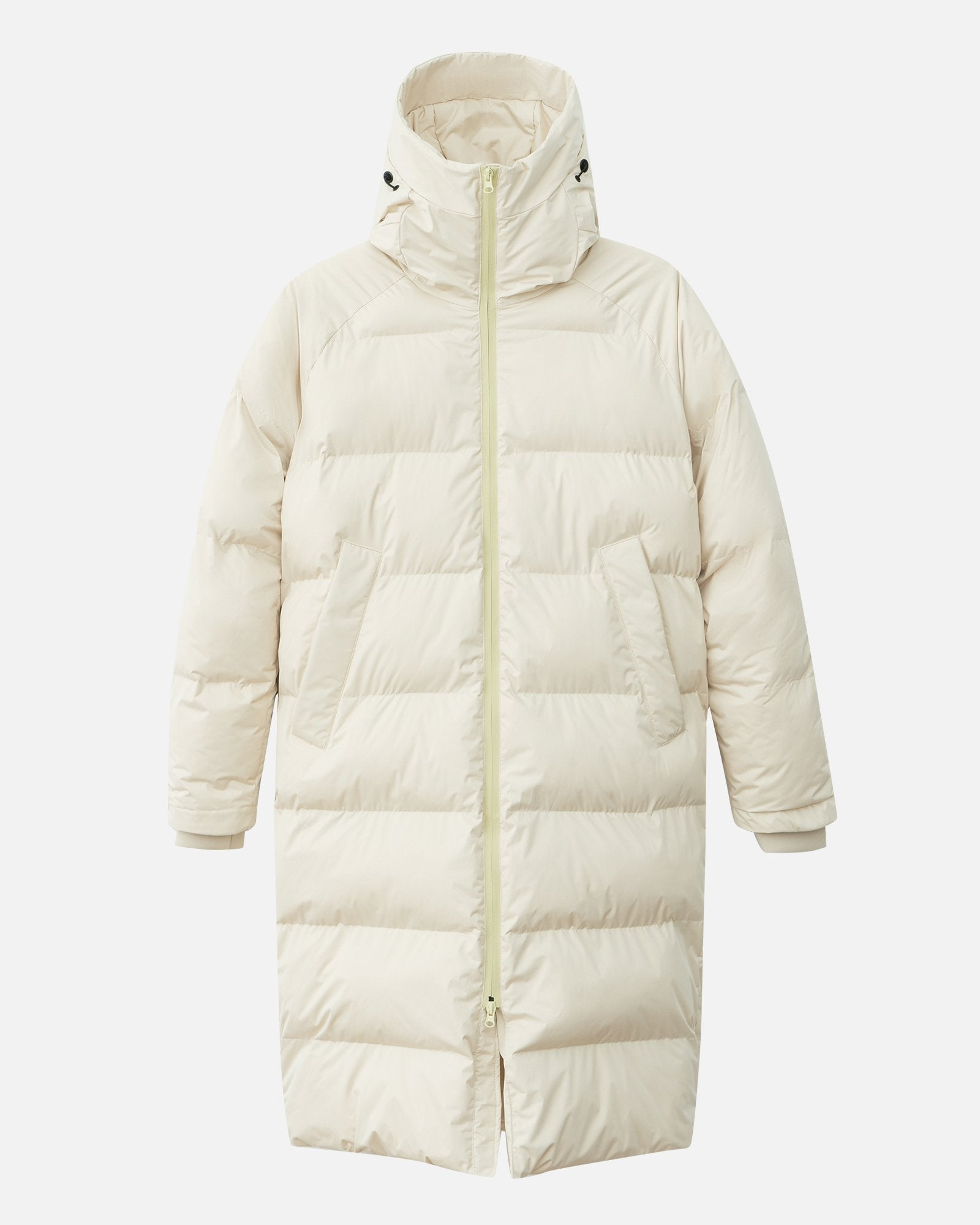 DOWN COAT IN IVORY WHITE BY SHU