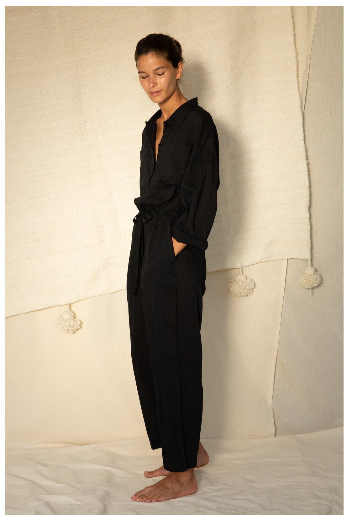 EMILY JUMPSUIT BLACK BY CAN PEP REY - BEYOND STUDIOS