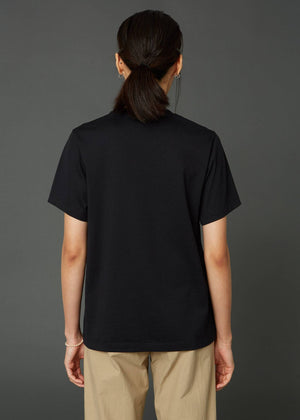 STANDARD TEE IN BLACK BY HOPE