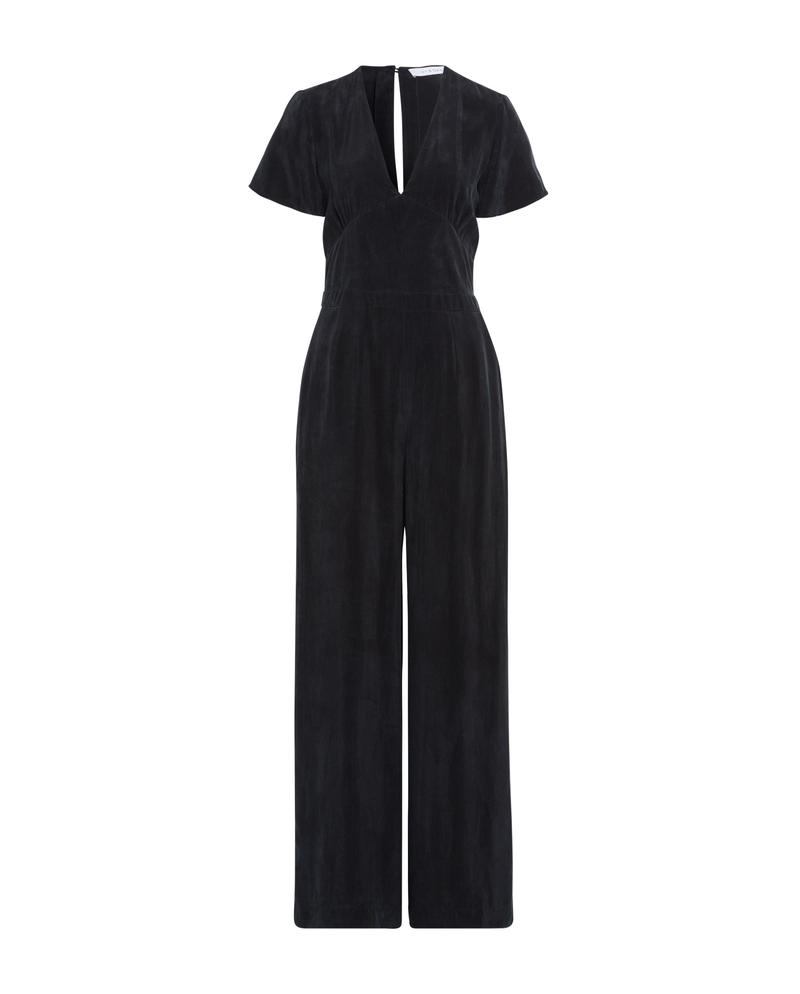 JUMPSUIT IN FADED BLACK