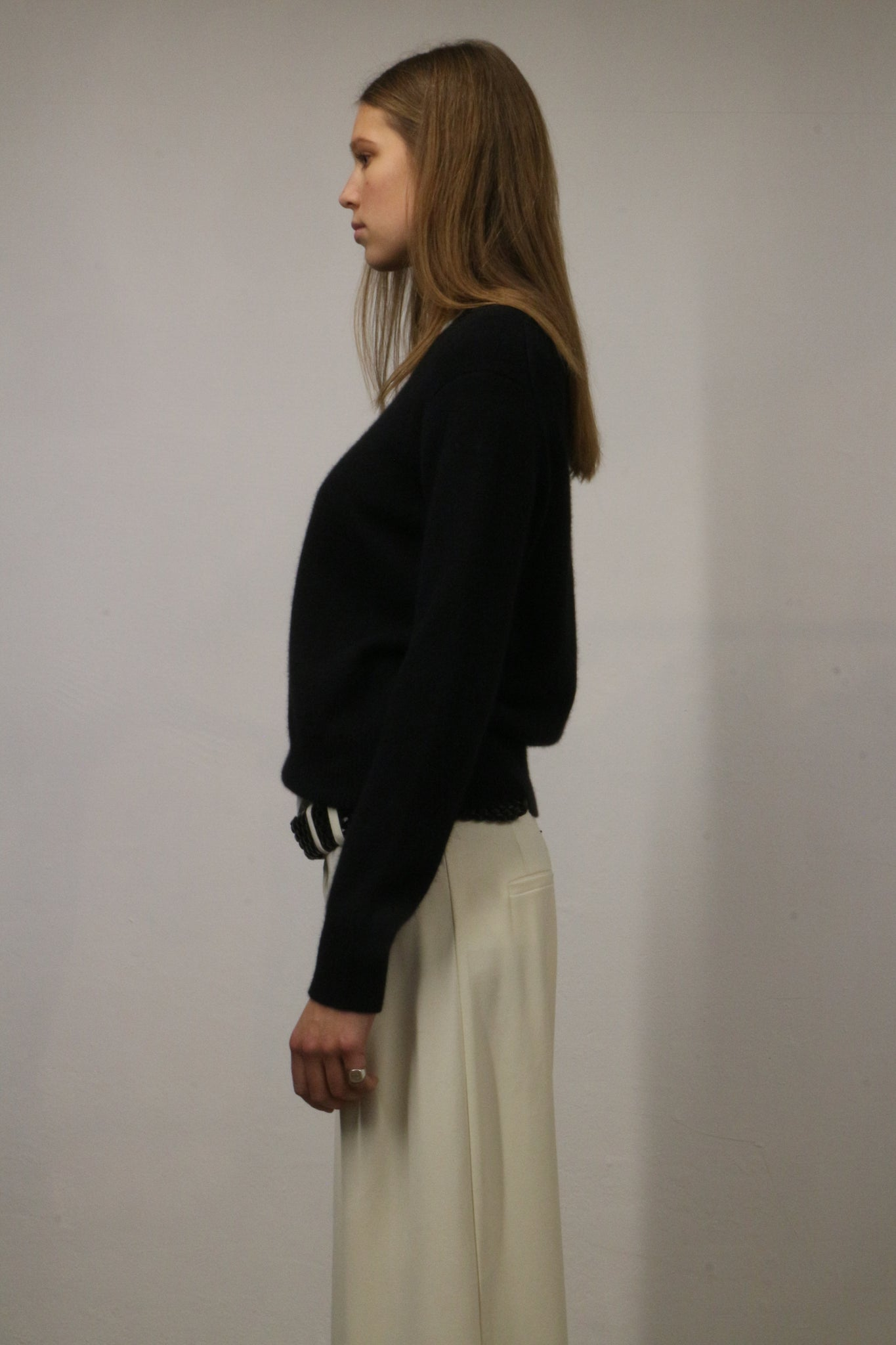 CAVALLO KNIT BY LOULOU STUDIO IN BLACK