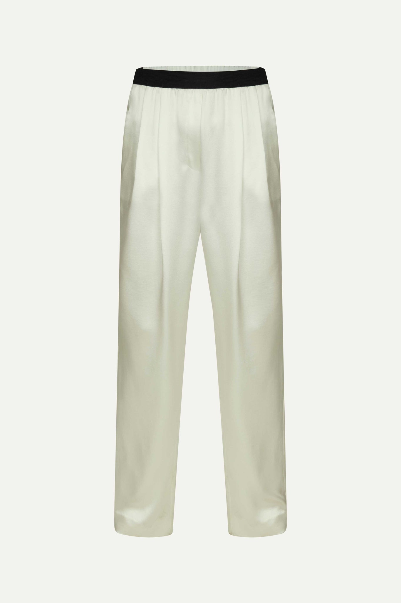 PAGAI ELASTIC PANTS BY LOULOU STUDIO IN IVORY