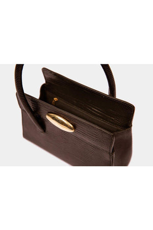 BABY BOSS BAG DARK BROWN LIZARD BY LITTLE LIFFNER - BEYOND STUDIOS