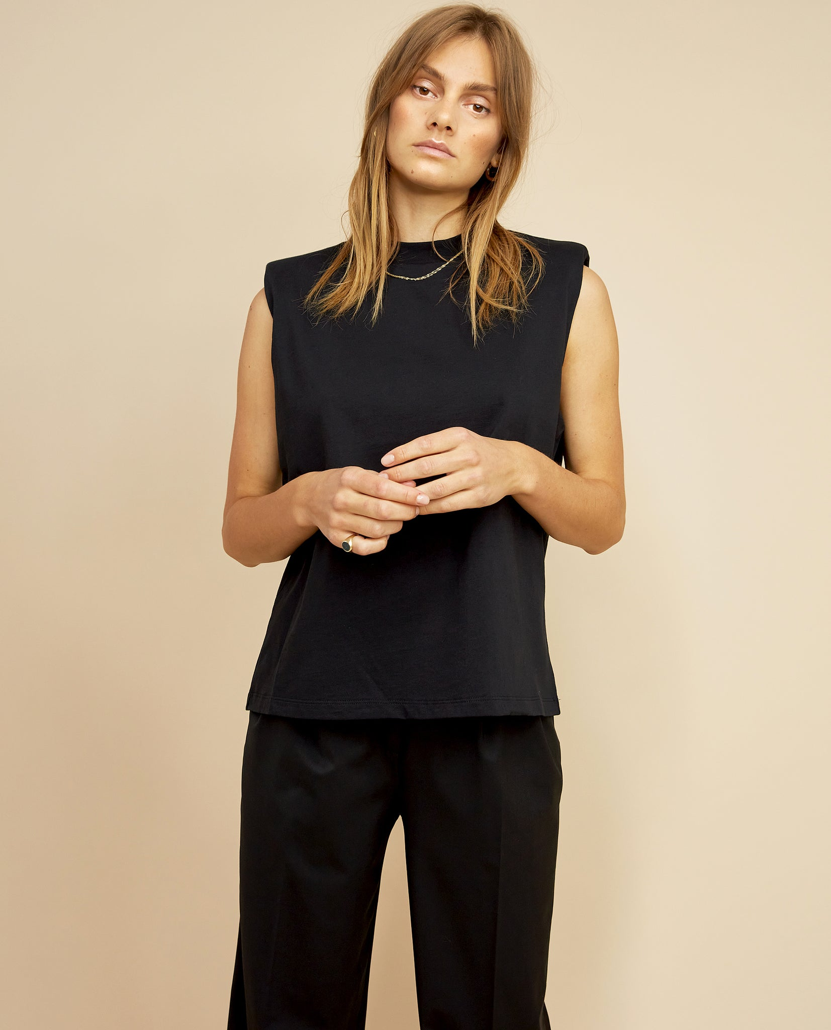DEVON SLEEVELESS TOP BY LES COYOTES DE PARIS