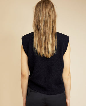 MORRIS CABLE KNITTED TOP BY LES COYOTES DE PARIS