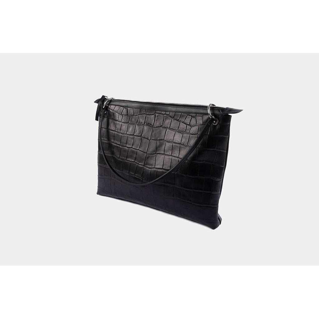POWER POUCH BLACK CROC BY LITTLE LIFFNER - BEYOND STUDIOS