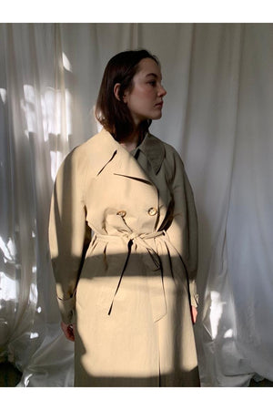 RUBY COAT BY LES COYOTES DE PARIS - BEYOND STUDIOS