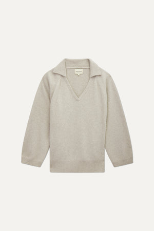 SPERONE V NECK SWEATER BY LOULOU STUDIO