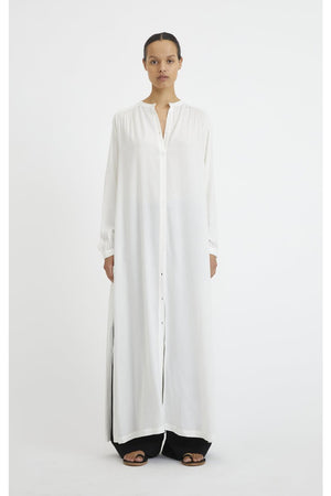 RODEBJER ART MAXI SHIRT DRESS - BEYOND STUDIOS