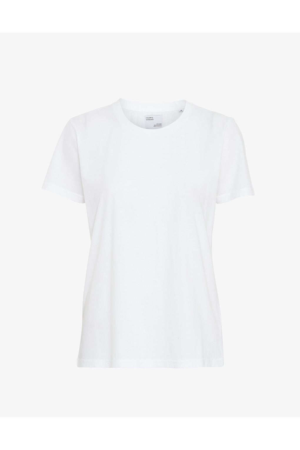 WOMEN LIGHT ORGANIC TEE OPTICAL WHITE - BEYOND STUDIOS