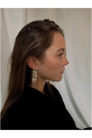 SILVER EARRINGS BY REALITY STUDIO - BEYOND STUDIOS
