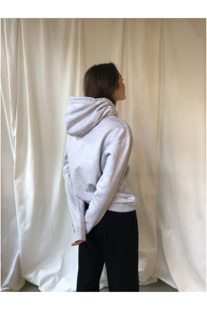 LIGHT GREY HOODIE BY WOOD WOOD - BEYOND STUDIOS