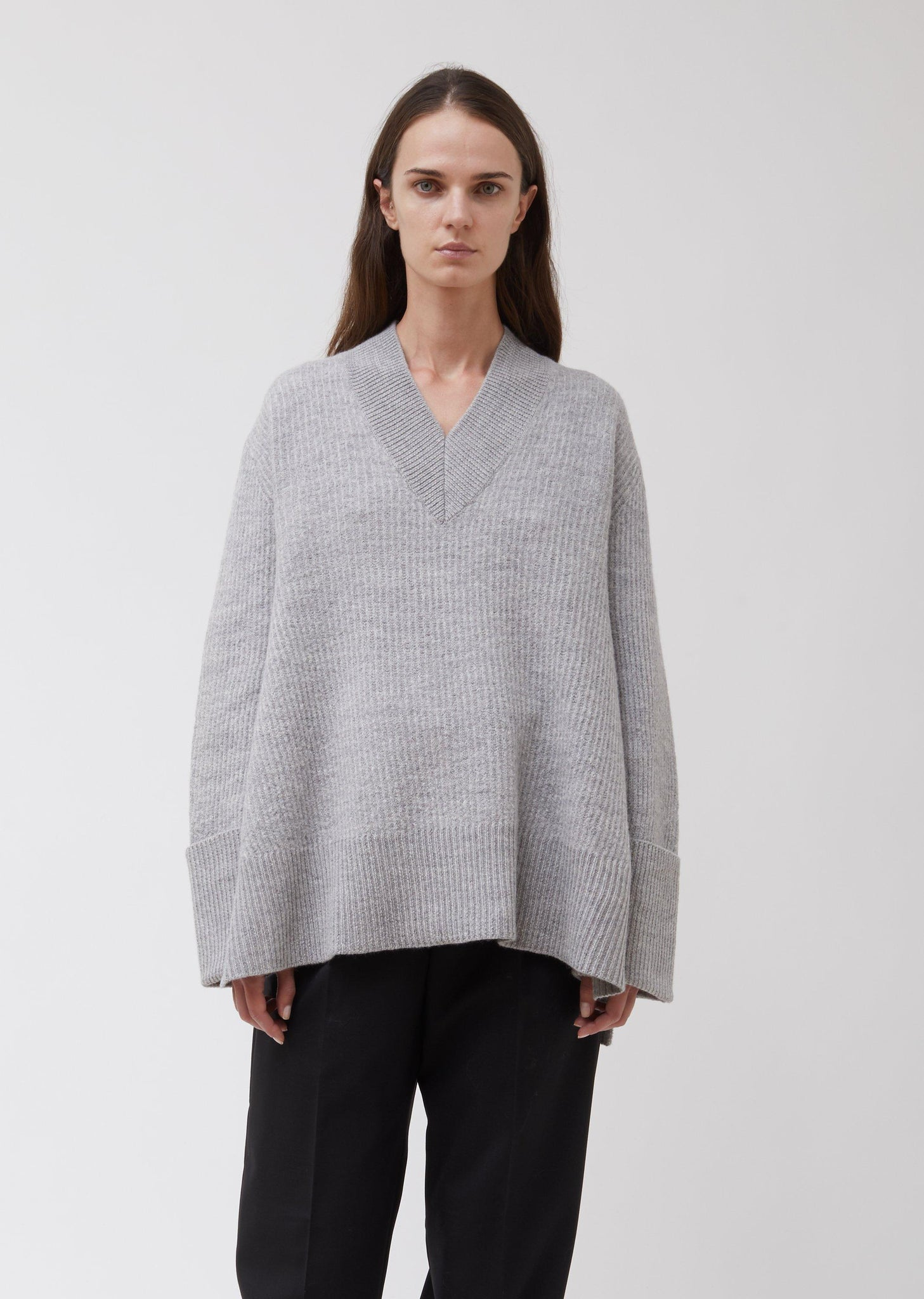 MOON SWEATER BY HOPE IN LIGHT GREY