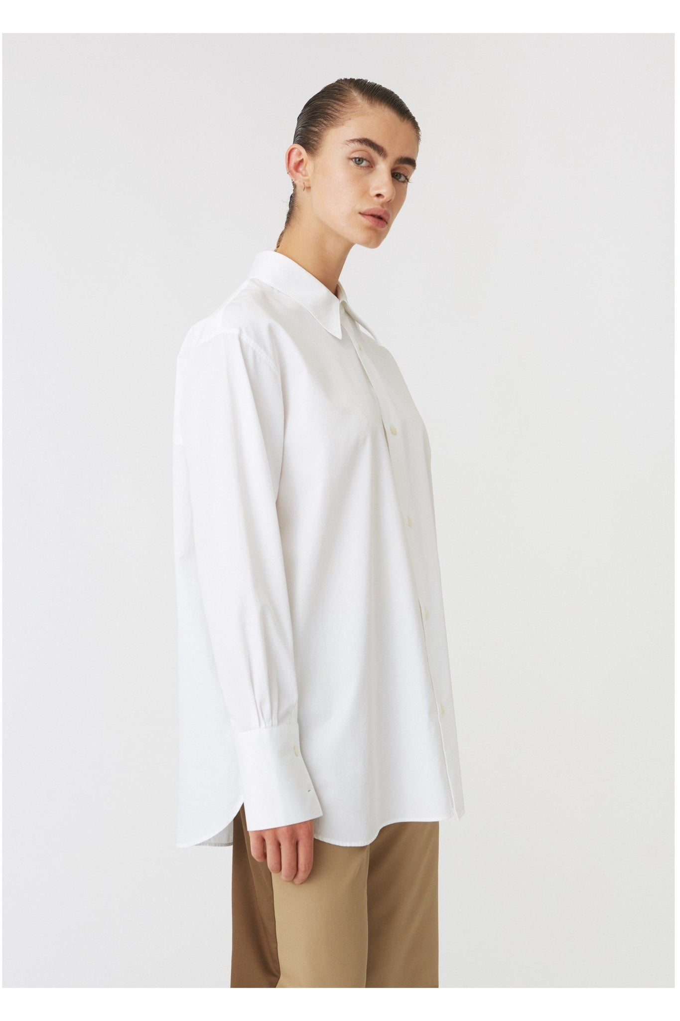 MANTRA SHIRT WHITE BY HOPE - BEYOND STUDIOS
