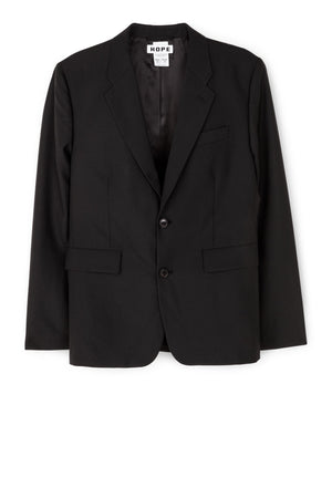OVERSIZED BLAZER BY HOPE IN BLACK - BEYOND STUDIOS