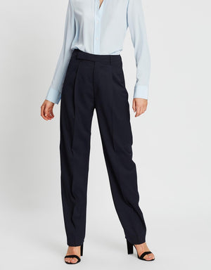 FILIPPA K JULIE TROUSER IN DEEP BLUE