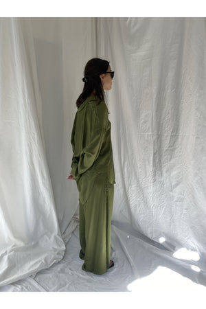 OVERSIZED SILKY SHIRT BY CAN PEP REY - BEYOND STUDIOS