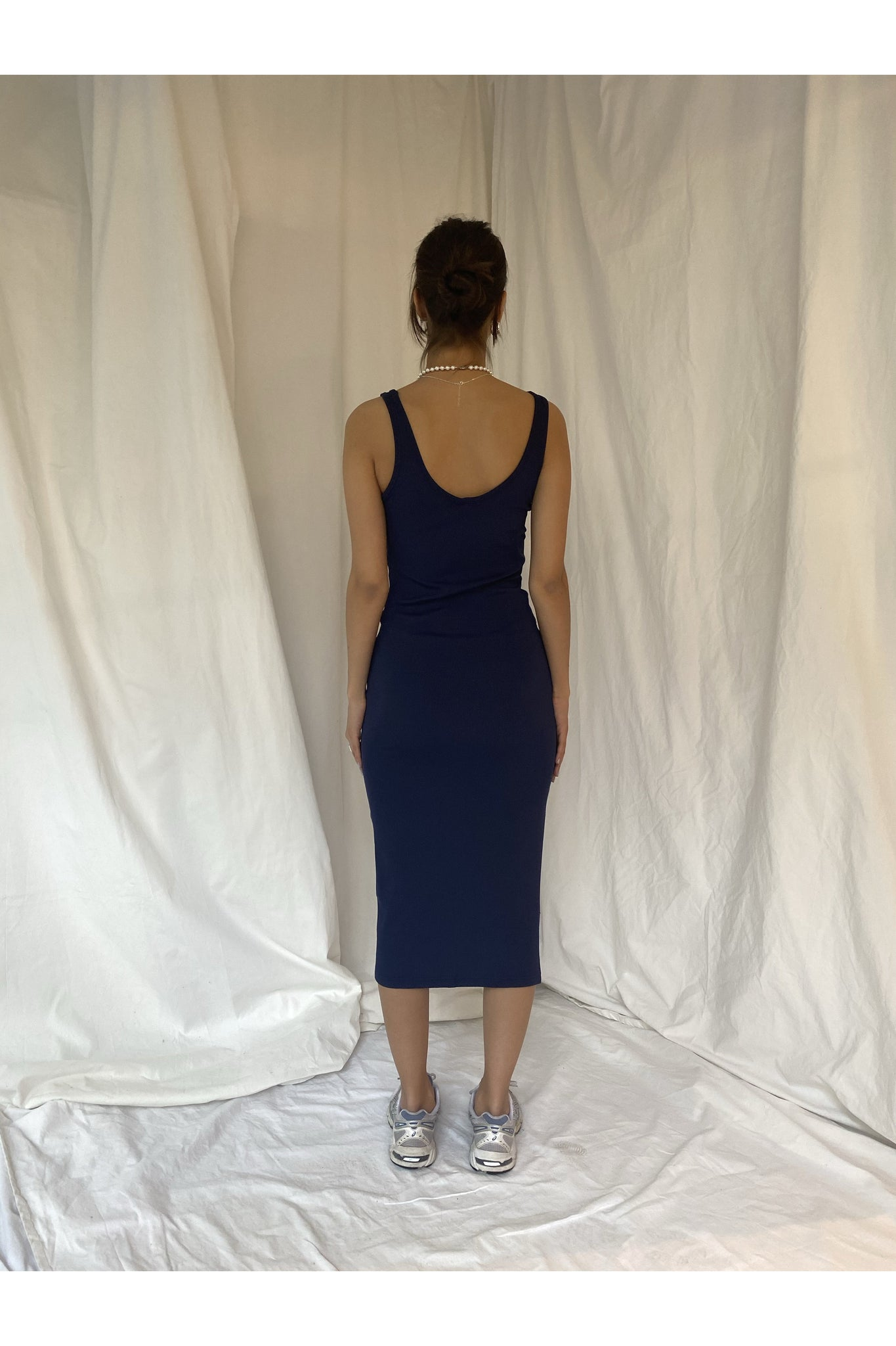 RIBBED TUBE DRESS - BEYOND STUDIOS