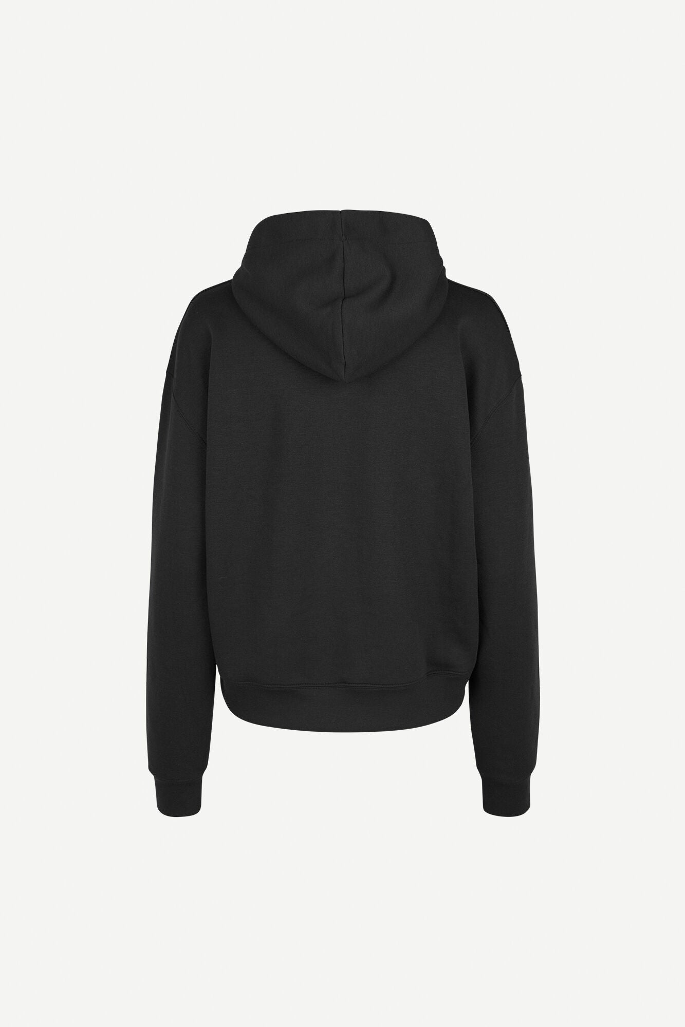 HOODED SWEATER IN BLACK