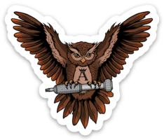 OWL AKT Sticker
