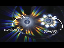 Load and play video in Gallery viewer, Moissanite Loose Stone Round shape and D colour