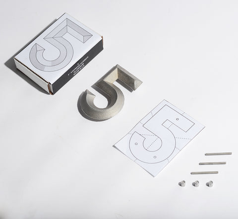 Glyph Shop_Address Numers by Thomas Burns_Package and Number