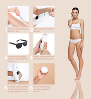 Qsimply IPL epilator