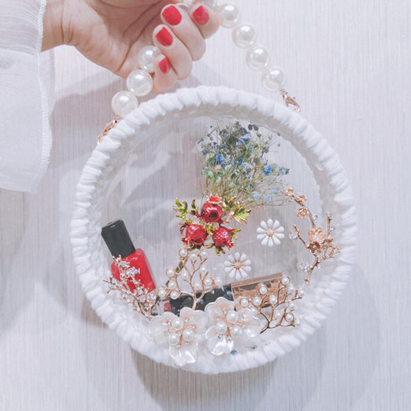 DIY Pearl Bag