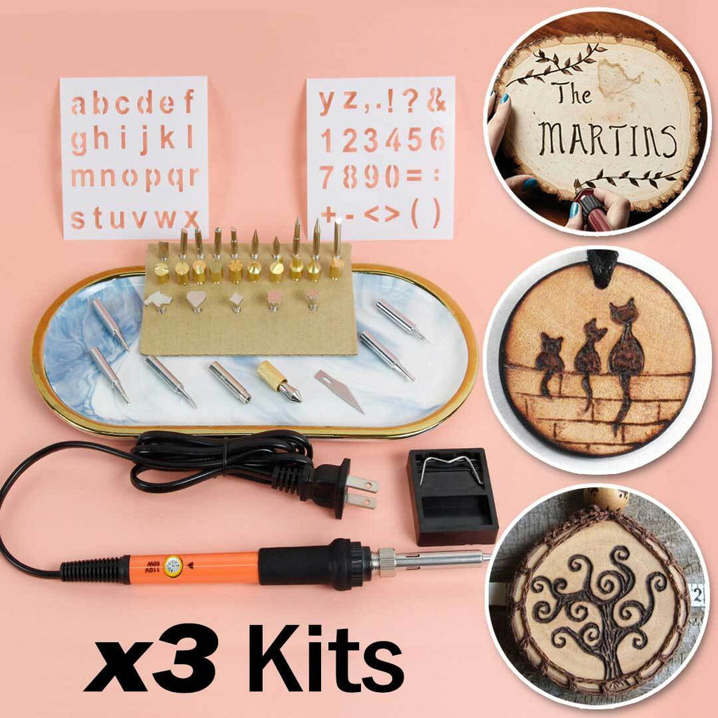 3 Wood Burning Kit