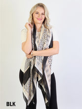 Load image into Gallery viewer, Premium Fashion print  silk Scarf