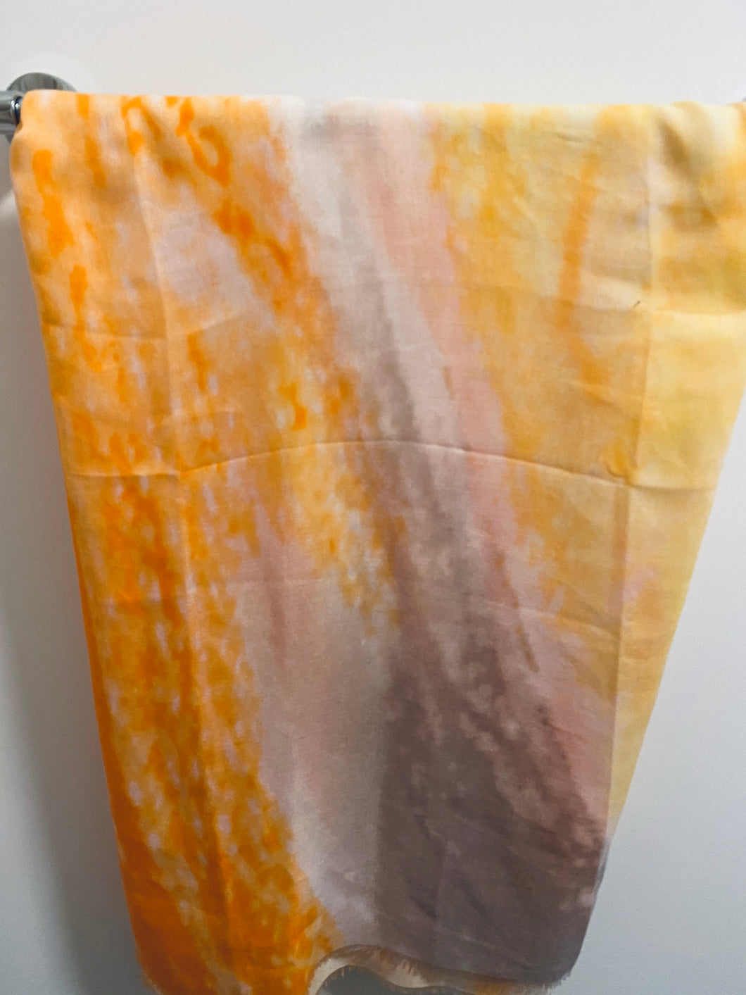 SCARF - tie dye orange / yellow