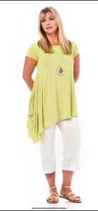 RAPZ Ladies bamboo Asymmetrical Top