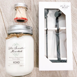 The Scented Market Candle Care Tools