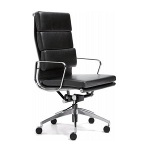 Adler Executive Chair with Back Cushion - ContractWorld Furniture